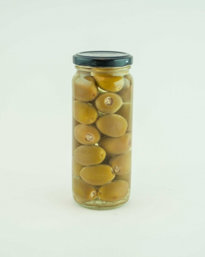 Green olives stuffed with Feta Cheese