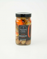 Pitted mediterranean olives - medley